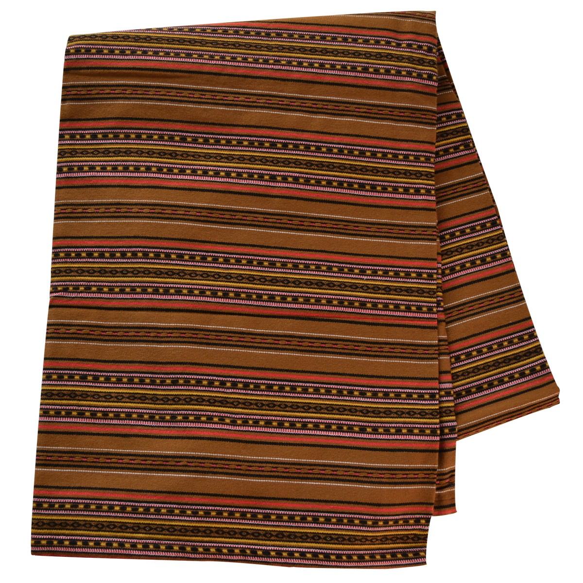 Kythnos Jacquard Blanket with Stripes