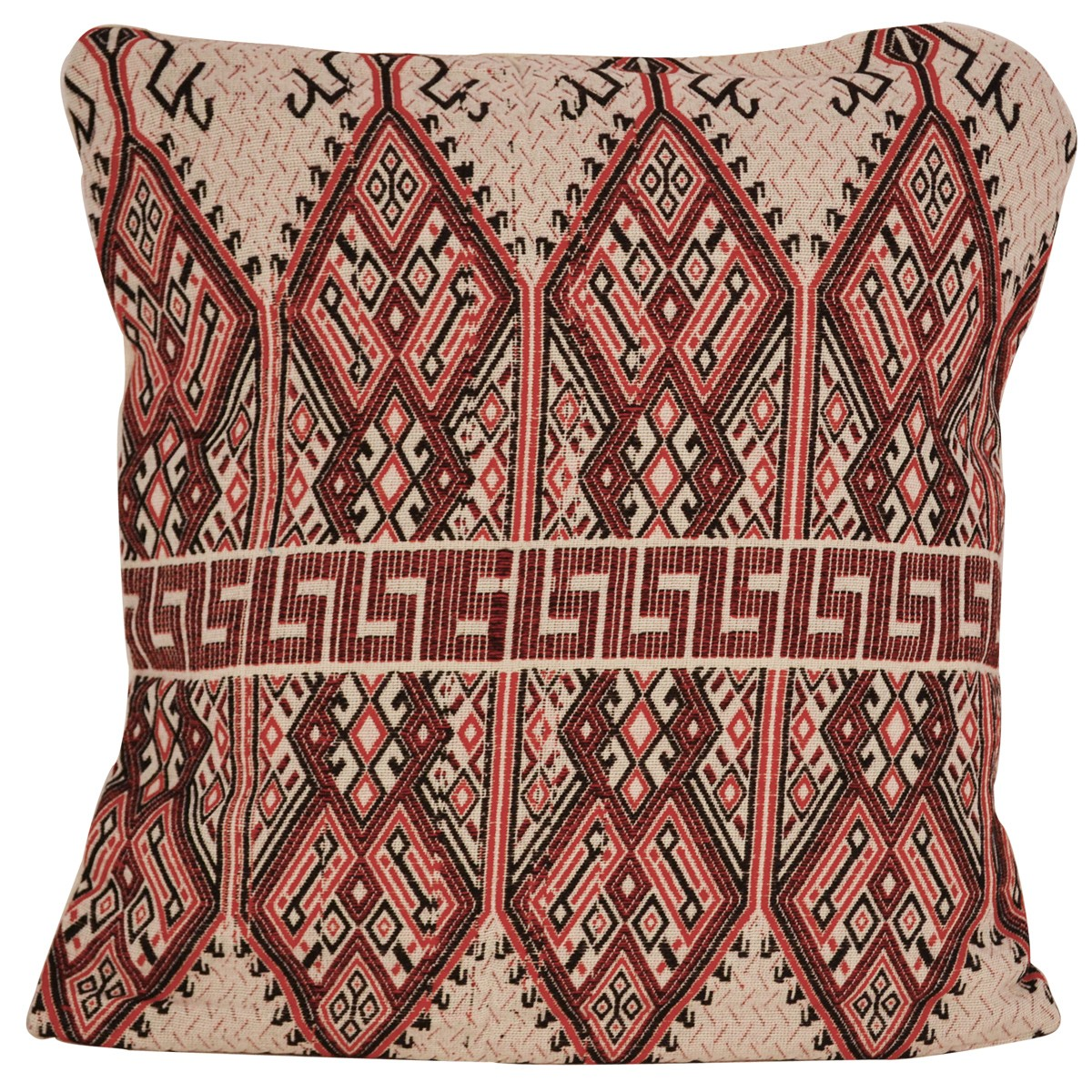 Praesos, Traditional Jacquard Cushion Cover