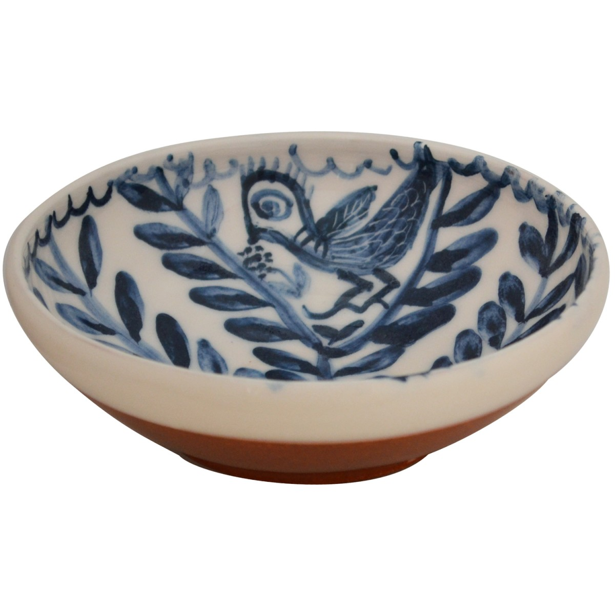 Decorative bowl for coffee table-Bird on Tree-1