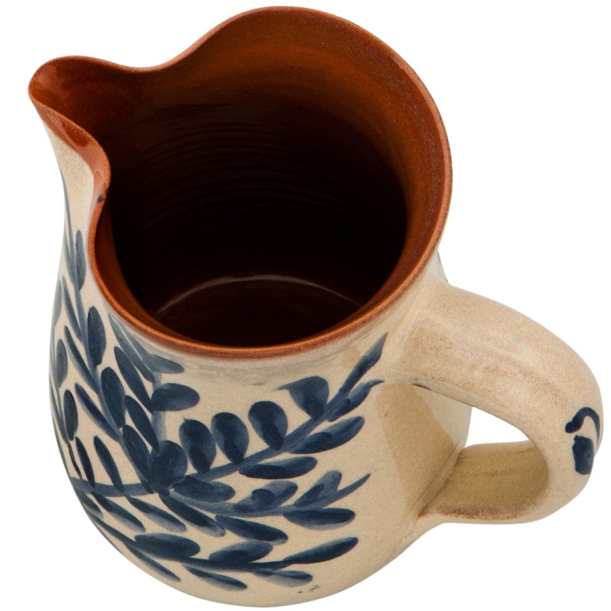 Blue_and_white_jugs_hand_painted_birds_branch-1