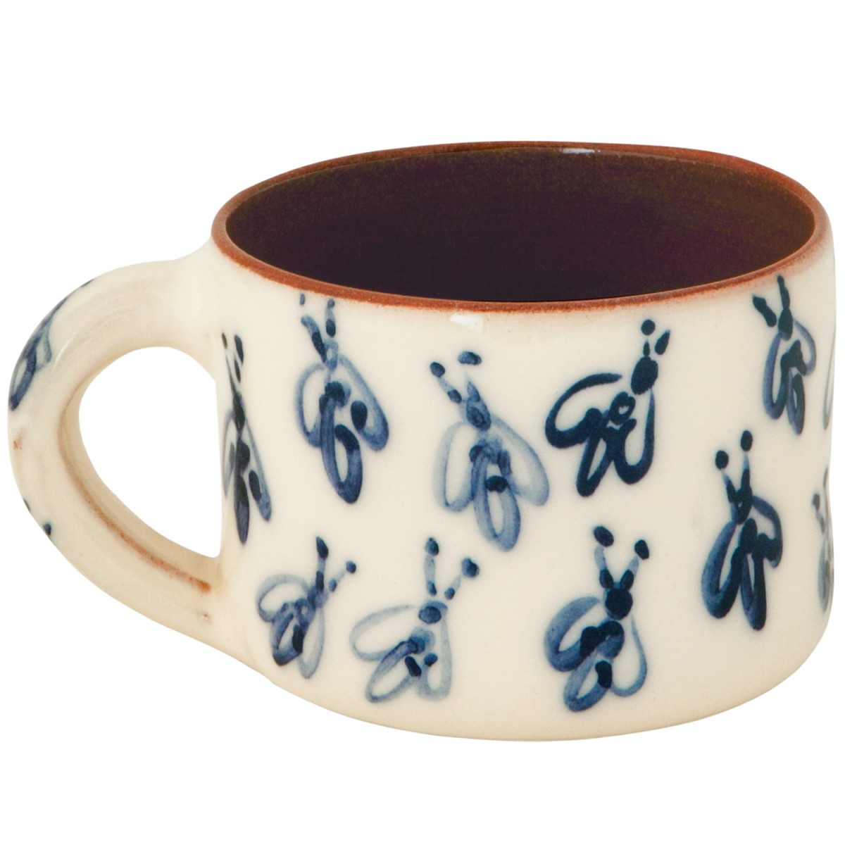 Pottery Mugs for Sale - Bees II -1