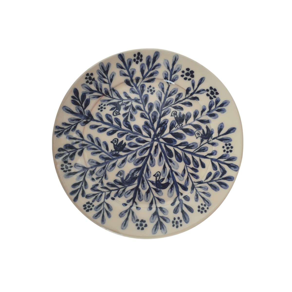 10011-Centered_Branches_Hand-made_Ceramic_Plate-1