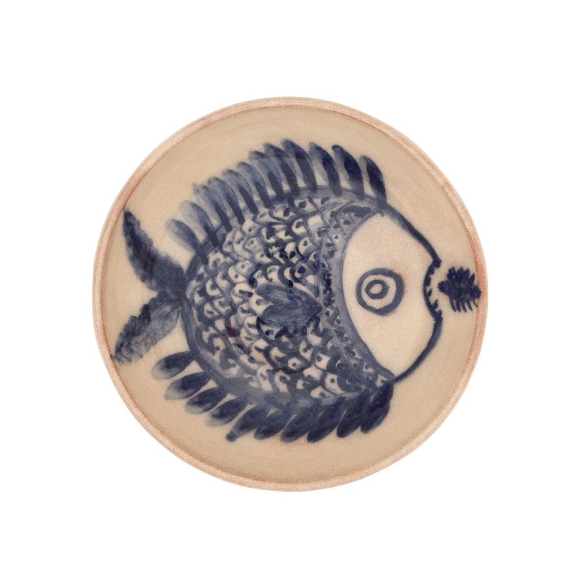 Decorative Centerpiece Bowls-Big and Small Fish-1