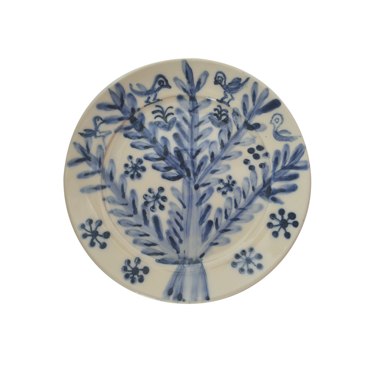 10011-Tree_Hand-made_Ceramic_Plate-1