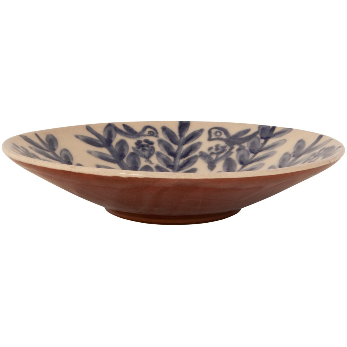 Decorative Bowl for Coffee Table - Birds on flowers-1