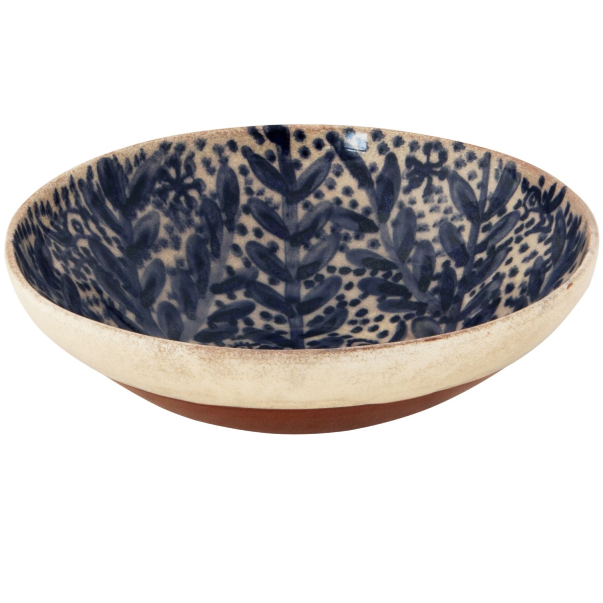 Decorative bowls for coffee tables-Dotted Flower-1