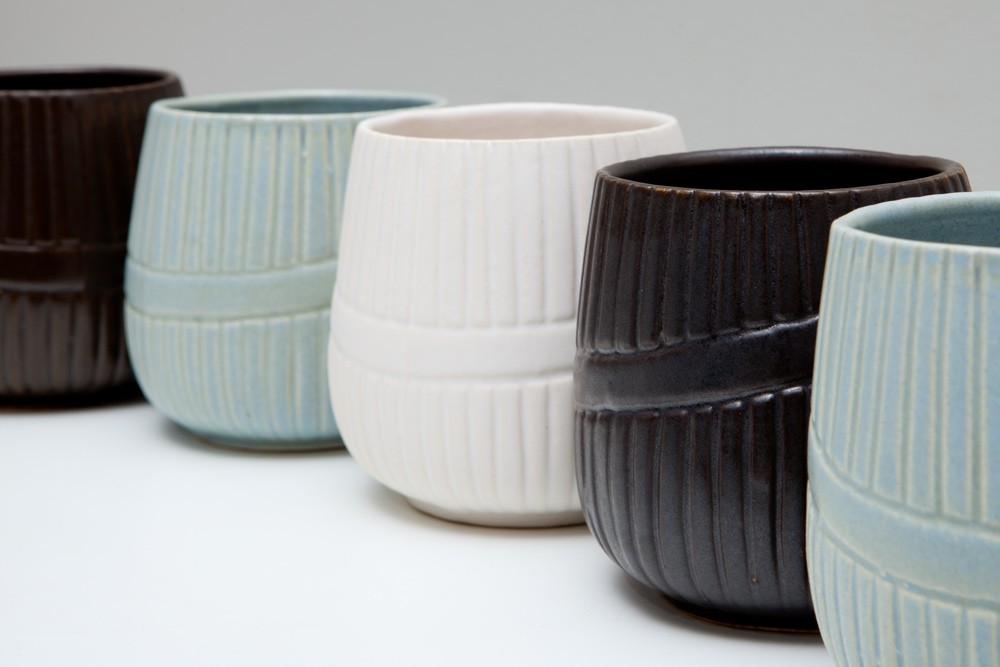 Ceramic Cups with no Handles-1