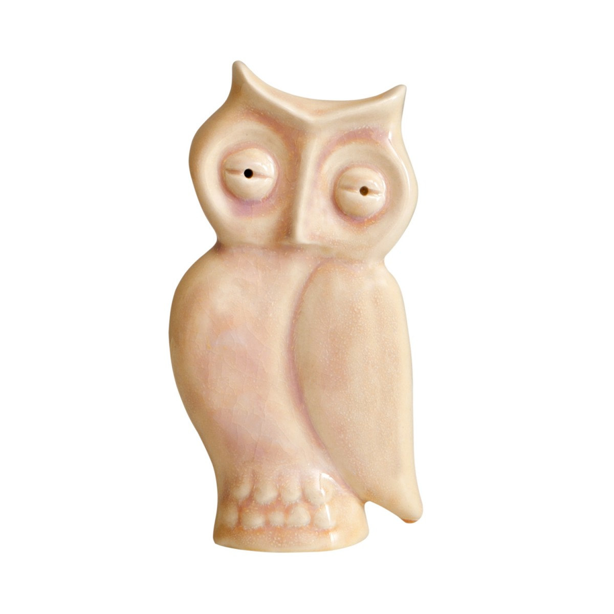 Ceramic Owl -decorative pottery -A