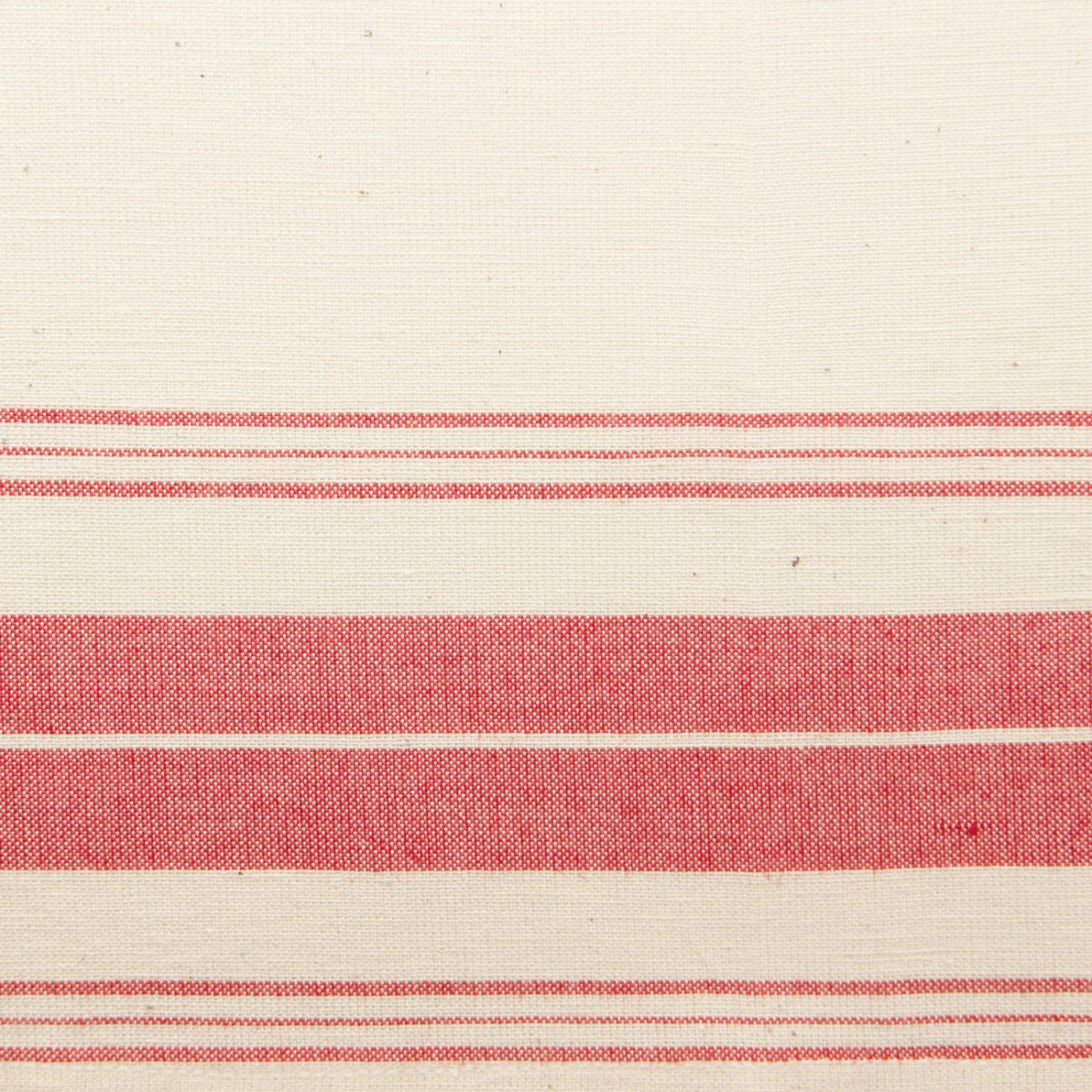 Hand-loomed Placemat, Stripes, Red-1