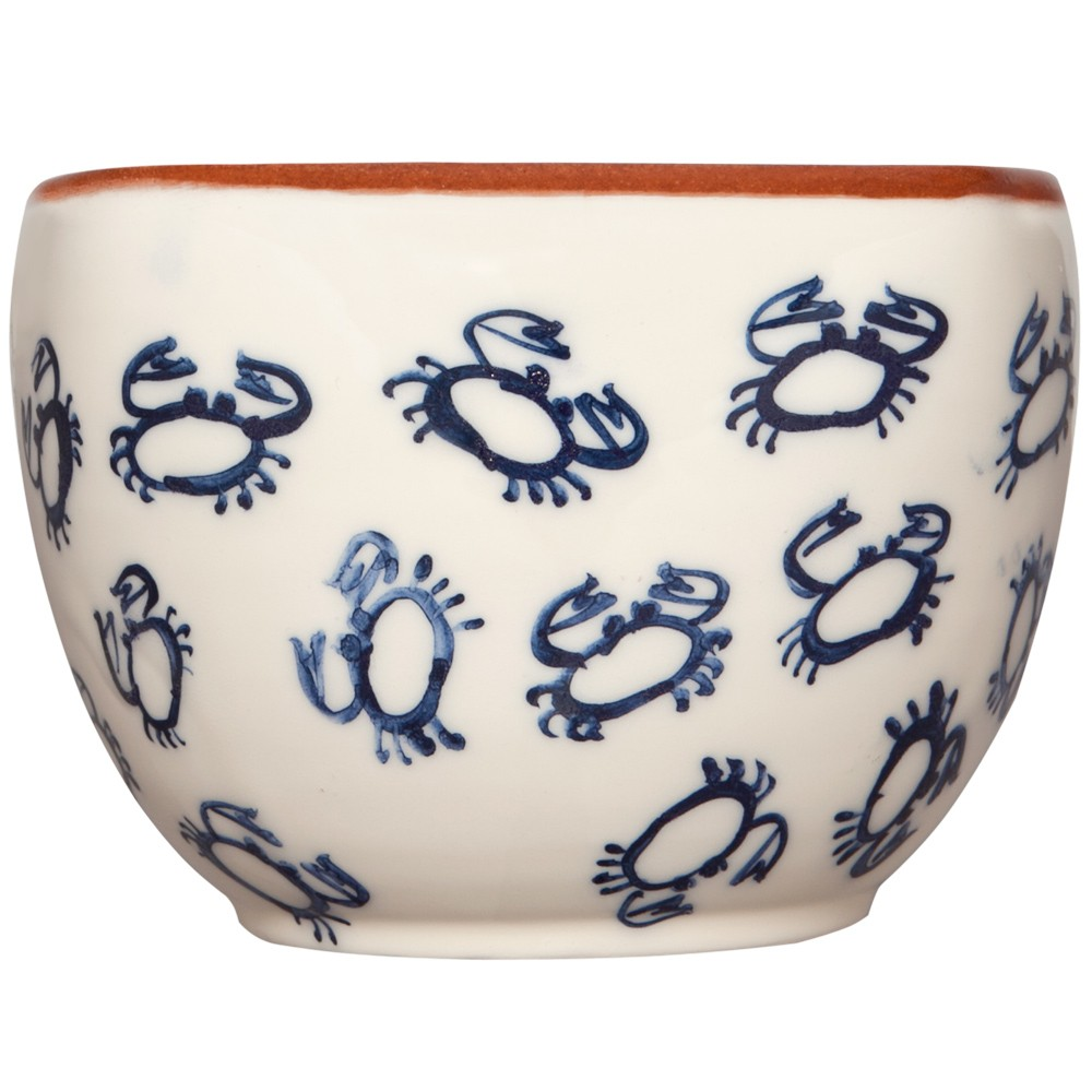 Decorative Bowl - Hand Painted Crab-1