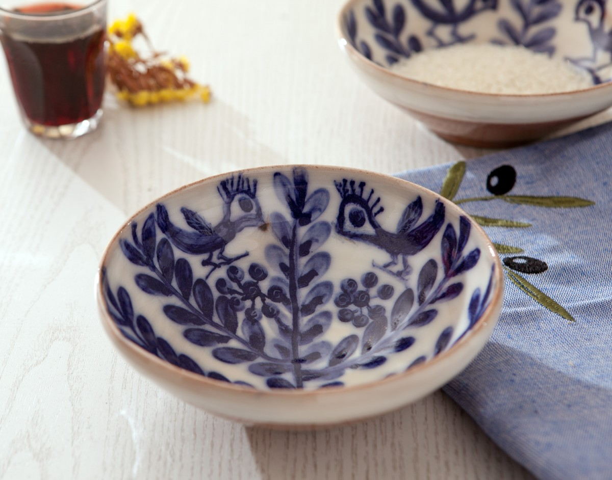 Decorative Bowls - Pair of Birds -A