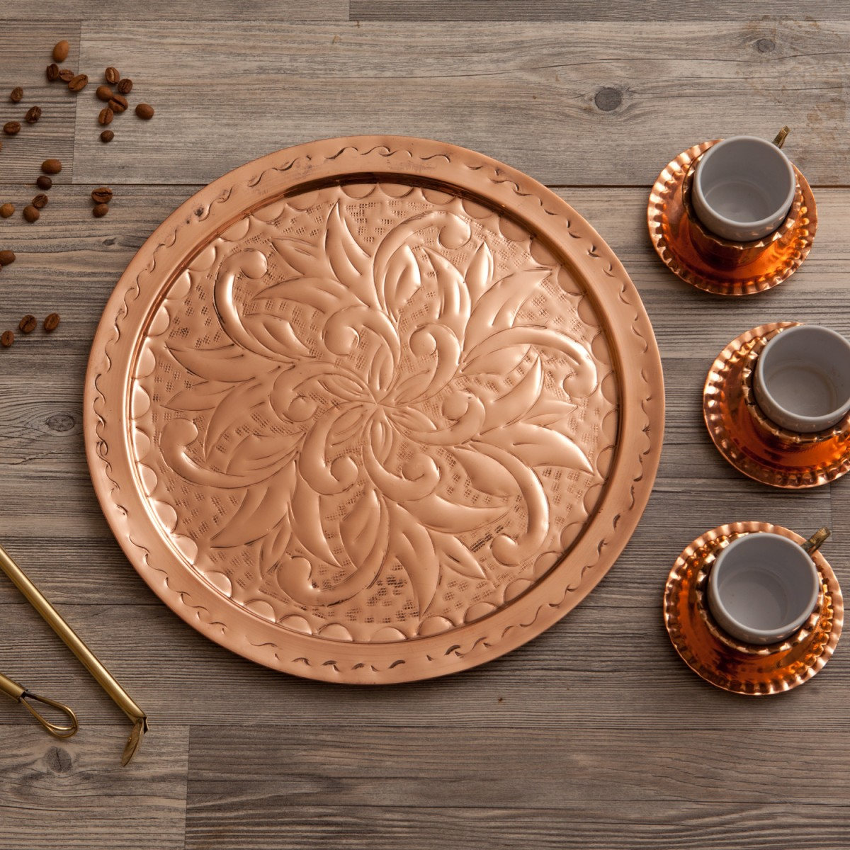 Decorative Tray Engraved A