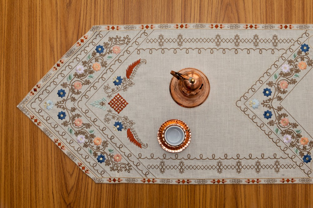 Embroidered Table Runner-1