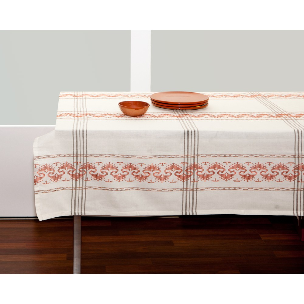 Folk Art Tablecloth-1