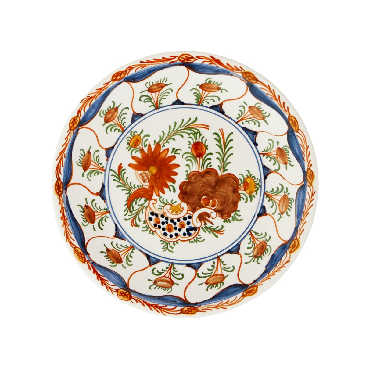 Hand_Painted_Dinner_Decorative_Plates-Flowers-I-Skyriana_Ceramics-1