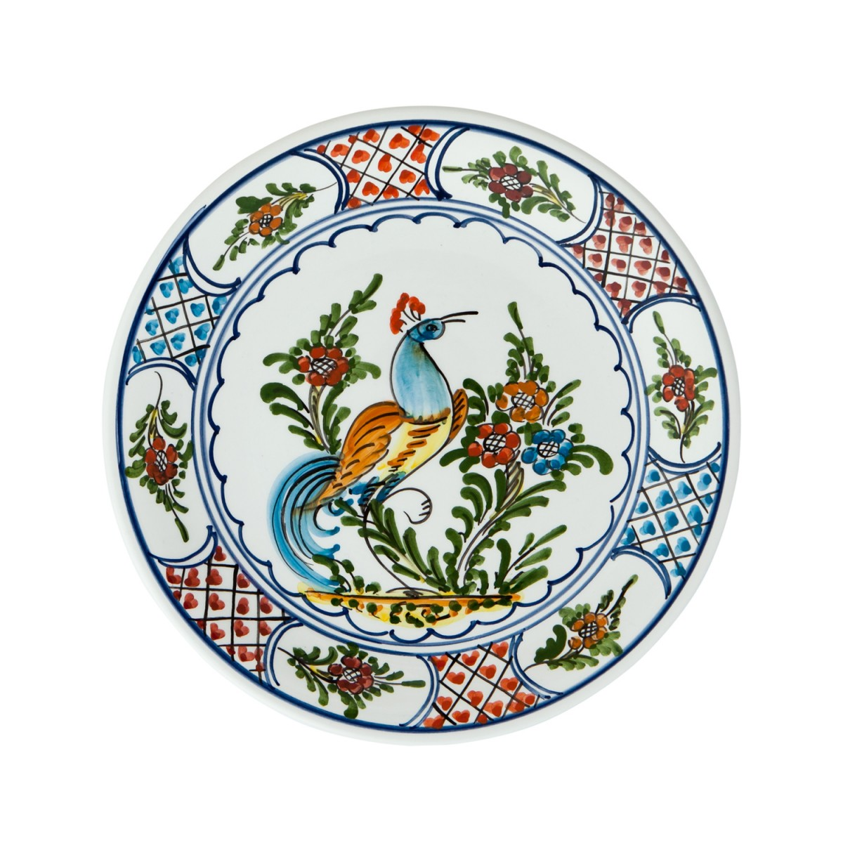 Hand_painted-Ceramic-Dinner-Decorative-Plates-Peacock-Skyriana_Plates-1