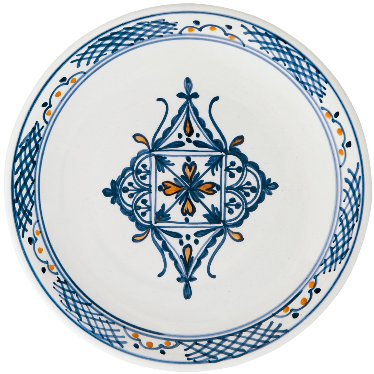 Hand_Painted_Ceramic_Dinner_Decorative_Plates-Eclectic_Blue-White-1