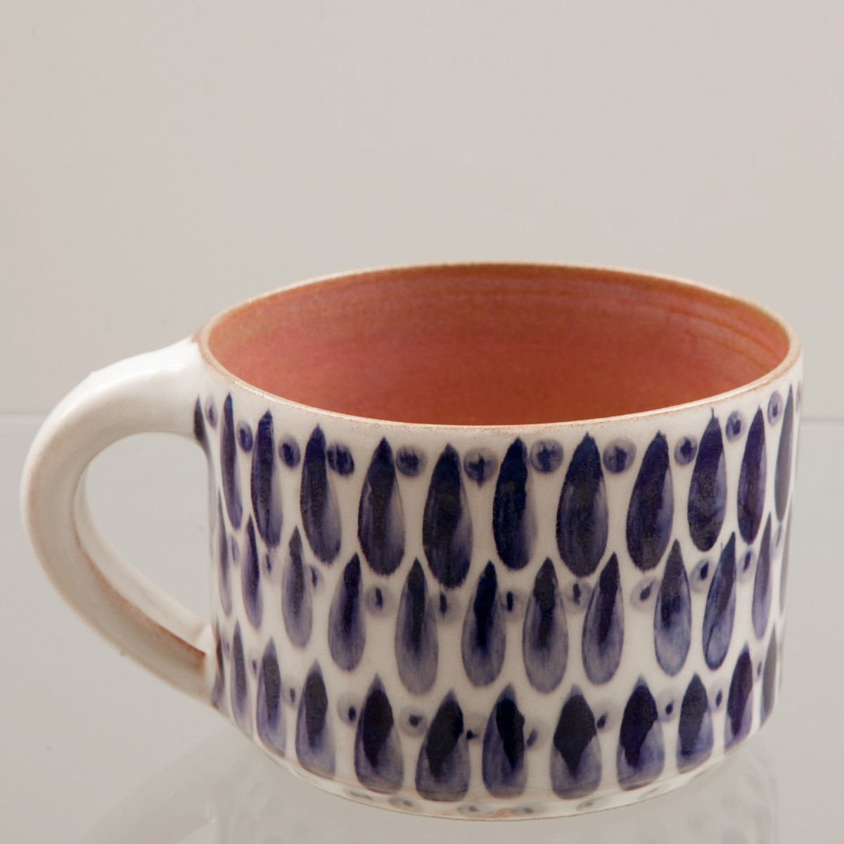 Handmade Ceramic Mugs - Drops - A
