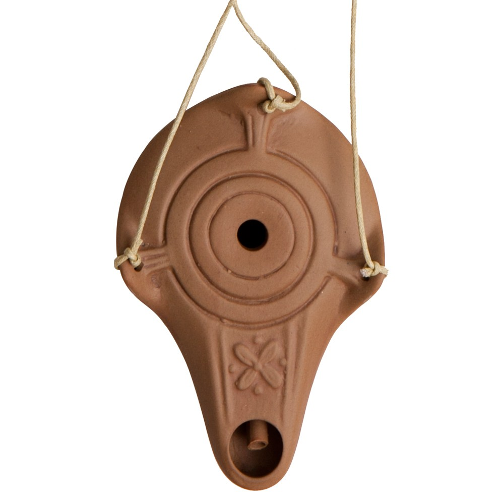 Hanging Oil Lamp -A