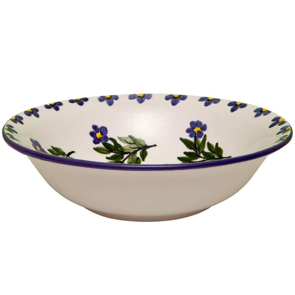Large Serving Bowls-Toile-Forget-Me-Not-1