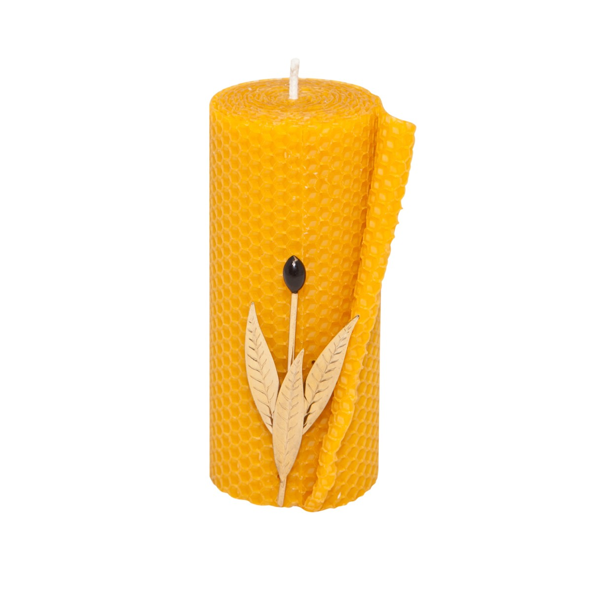 Pillar Beeswax Candles for Sale -A