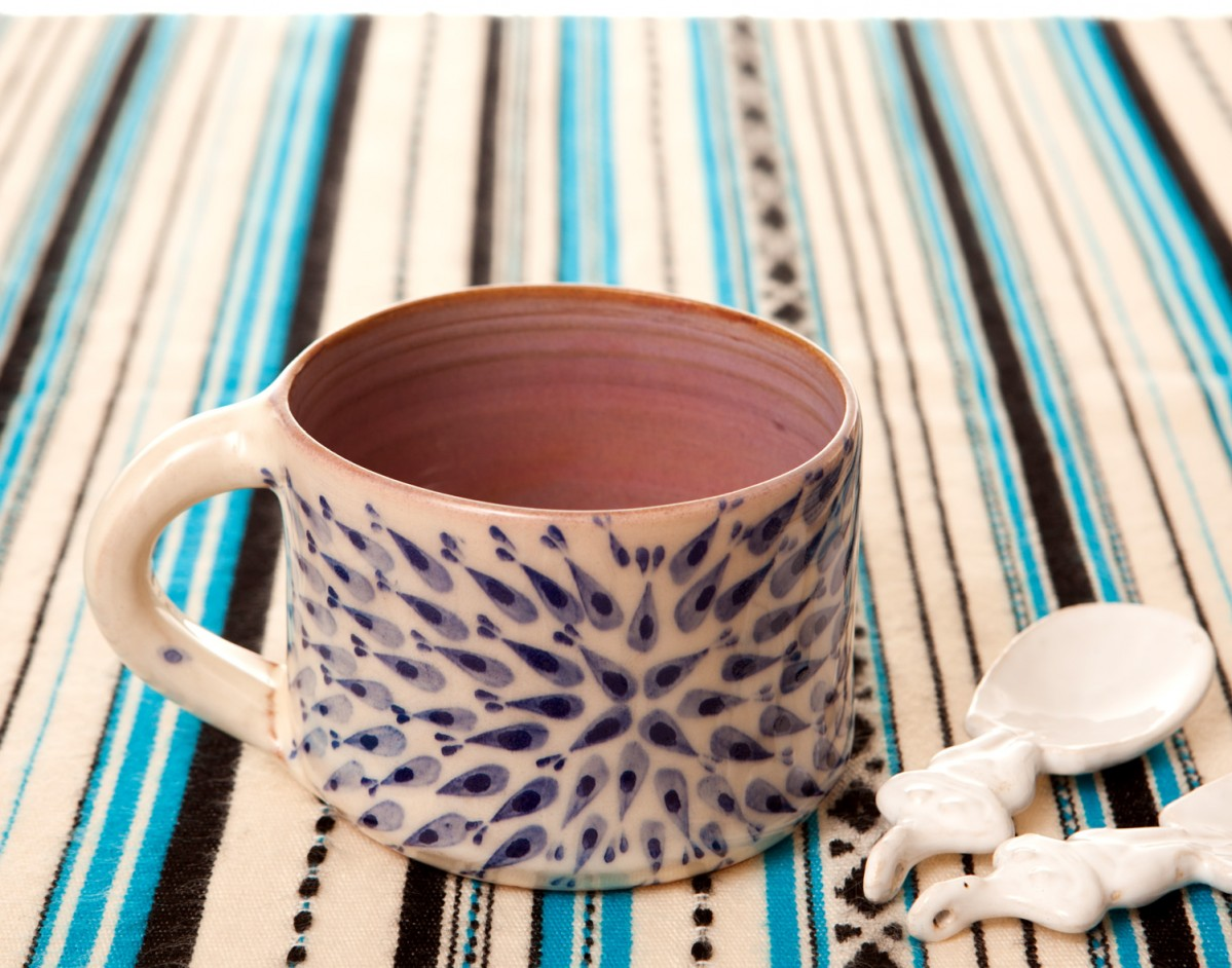 Pottery Mugs for Sale -A