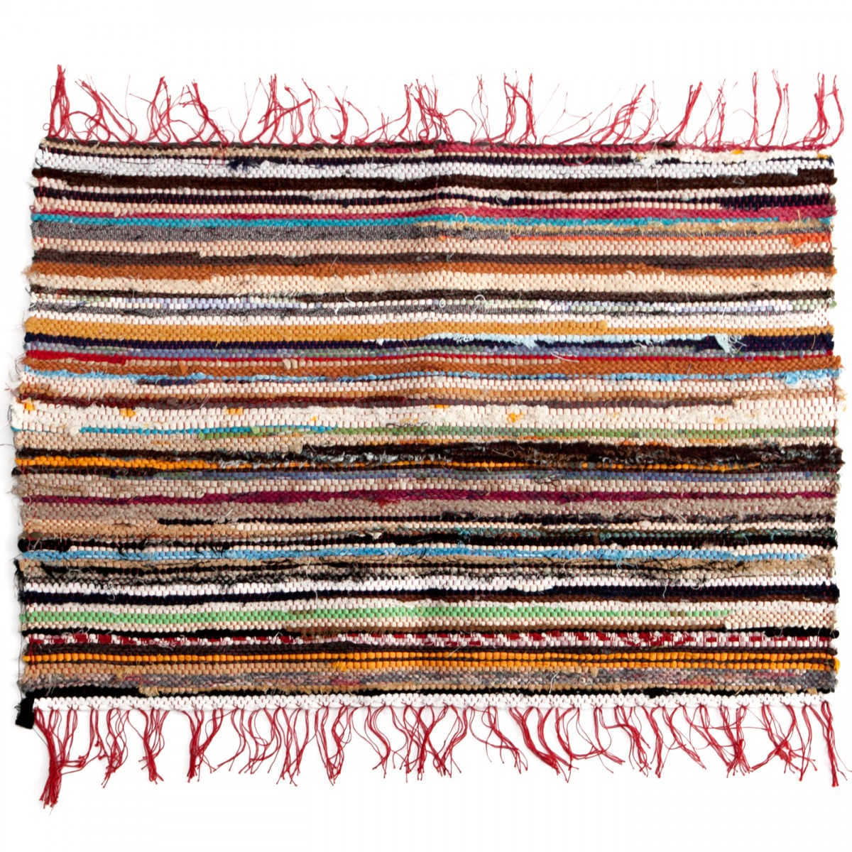 Rag Rug Recycled Clothes-1