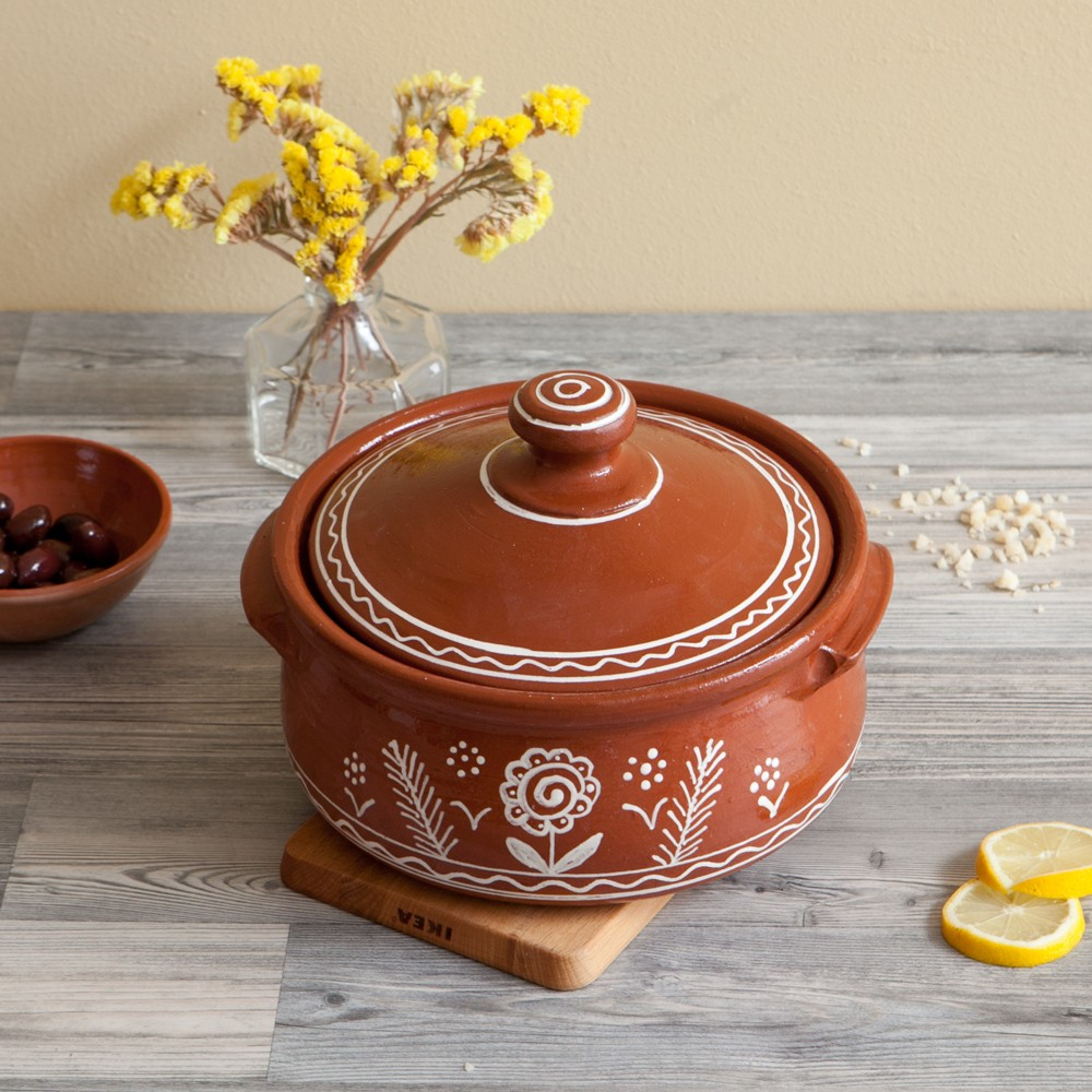 Terracotta-Cooking-Pot-Flower&Birds-1