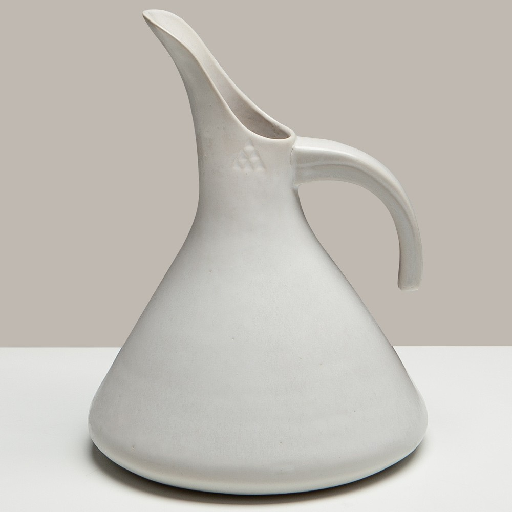 White Ceramic Jugs -1