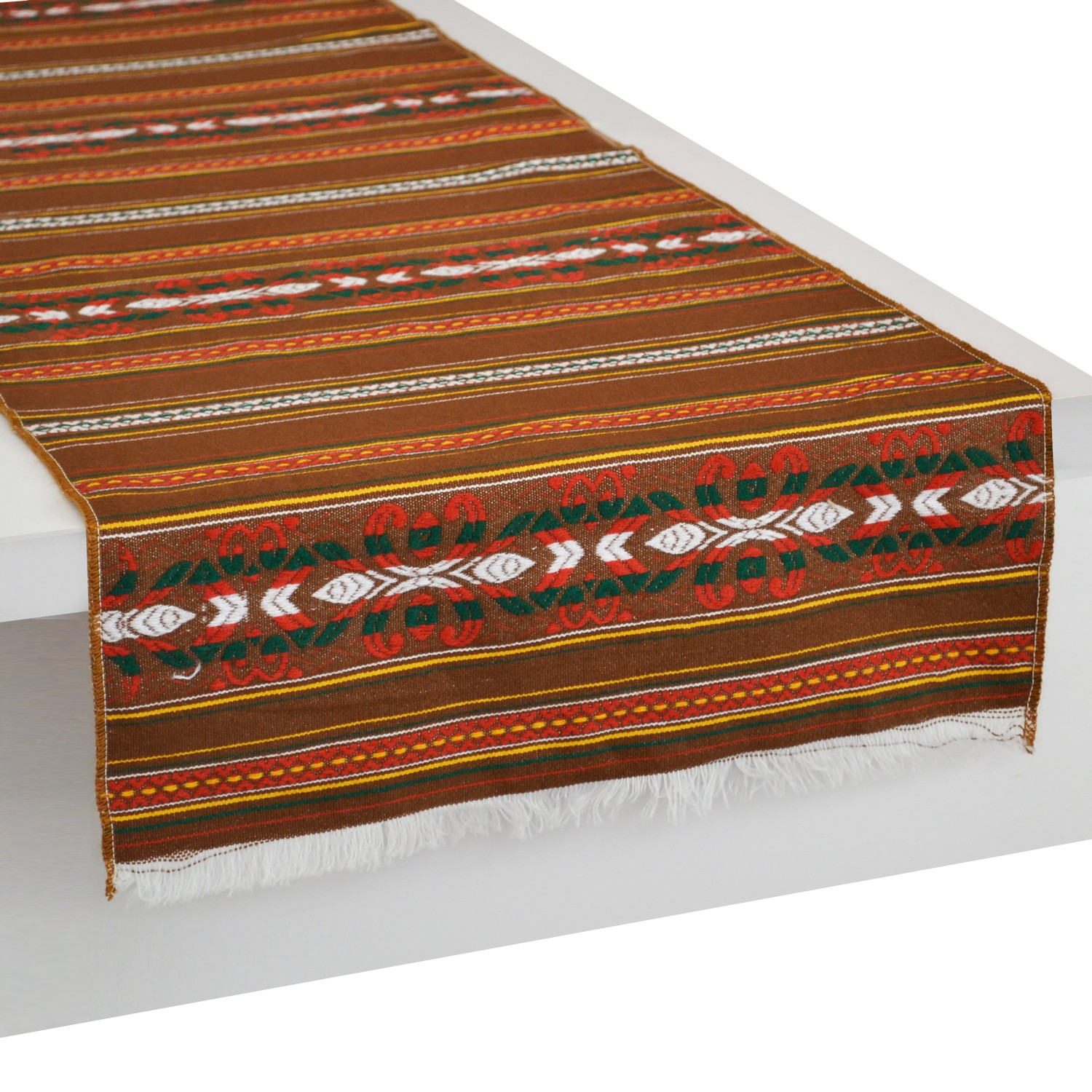 Traditional_Stripes_Table_Runner_Brown-Krinos