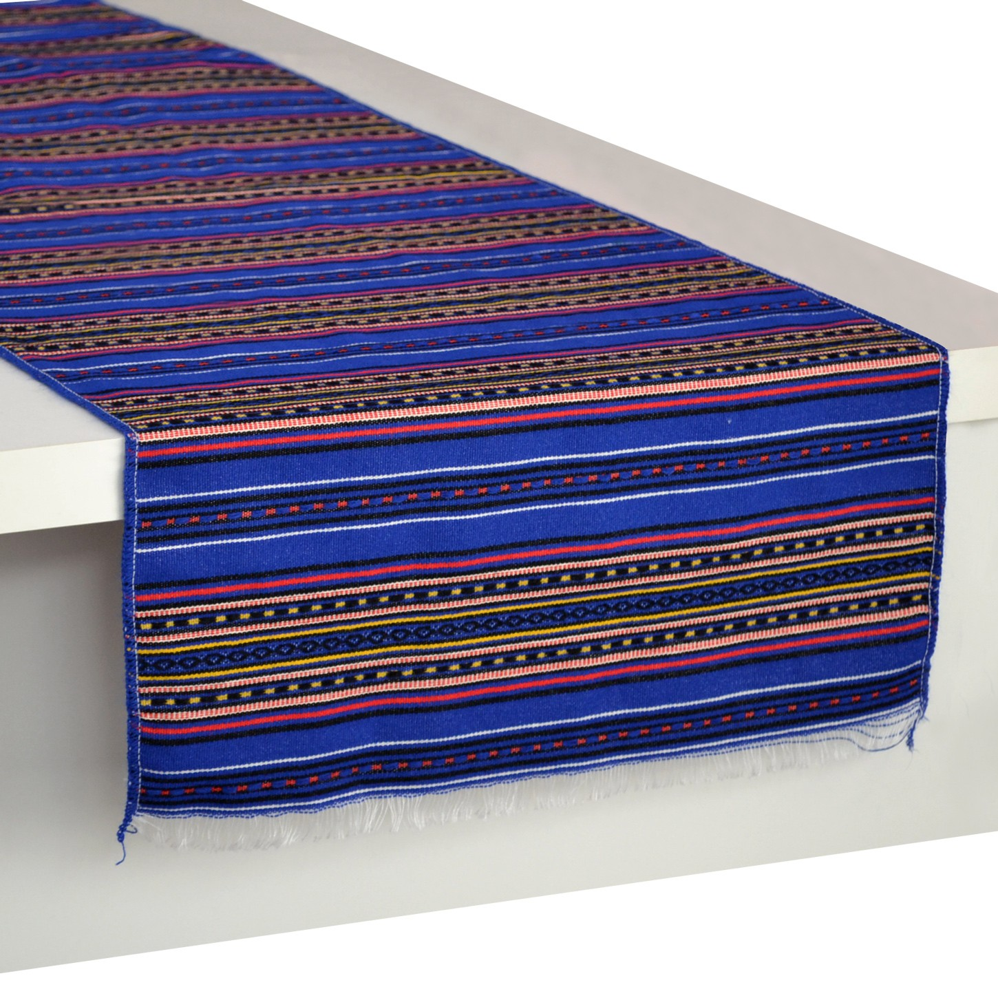 Stripes_Table-Runner_Blue_Multi-Traditional