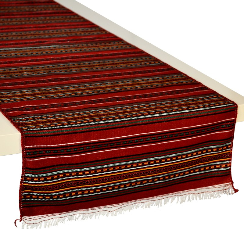 Stripes_Table-Runner_Red_Burgundy