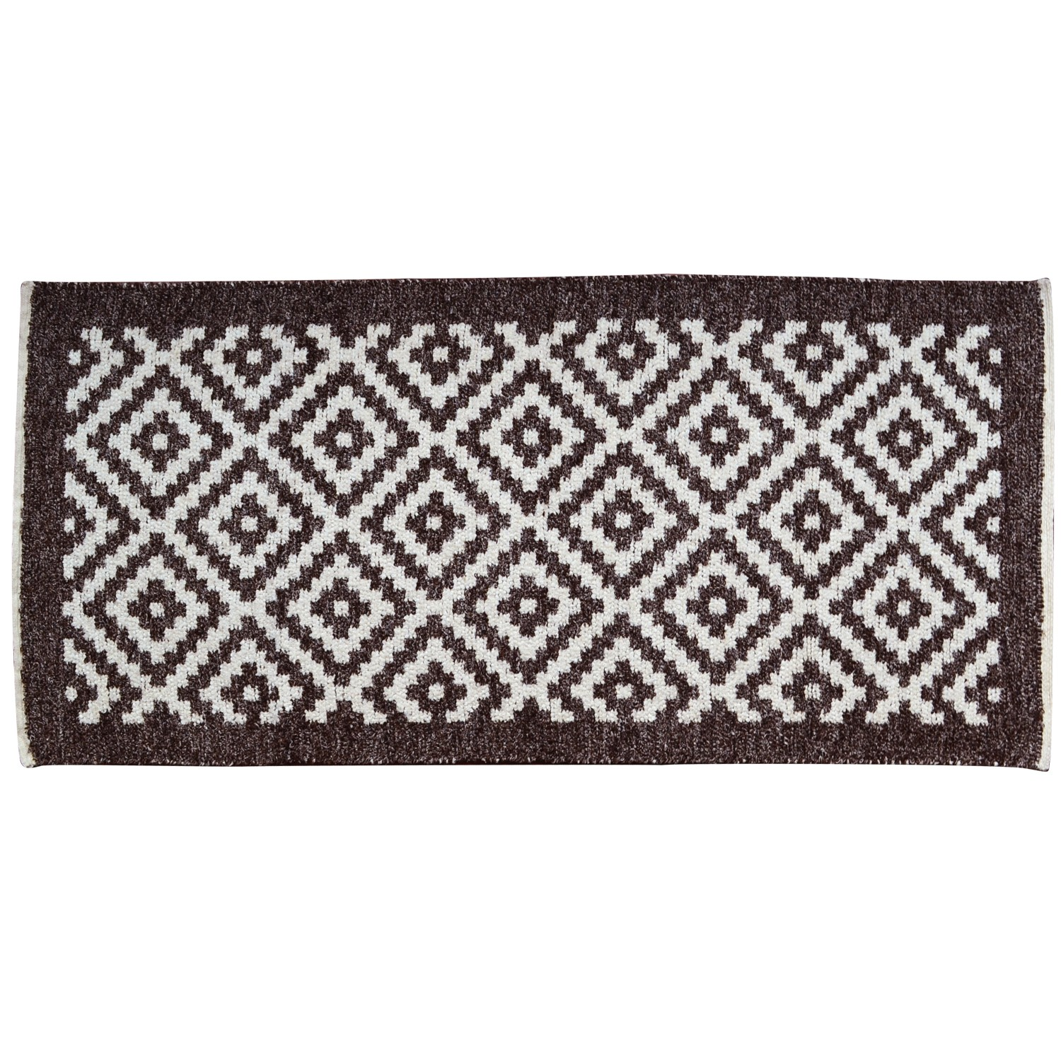 Two-sided_Cotton_Ethnic-Rhombus_Rug-Brown-1