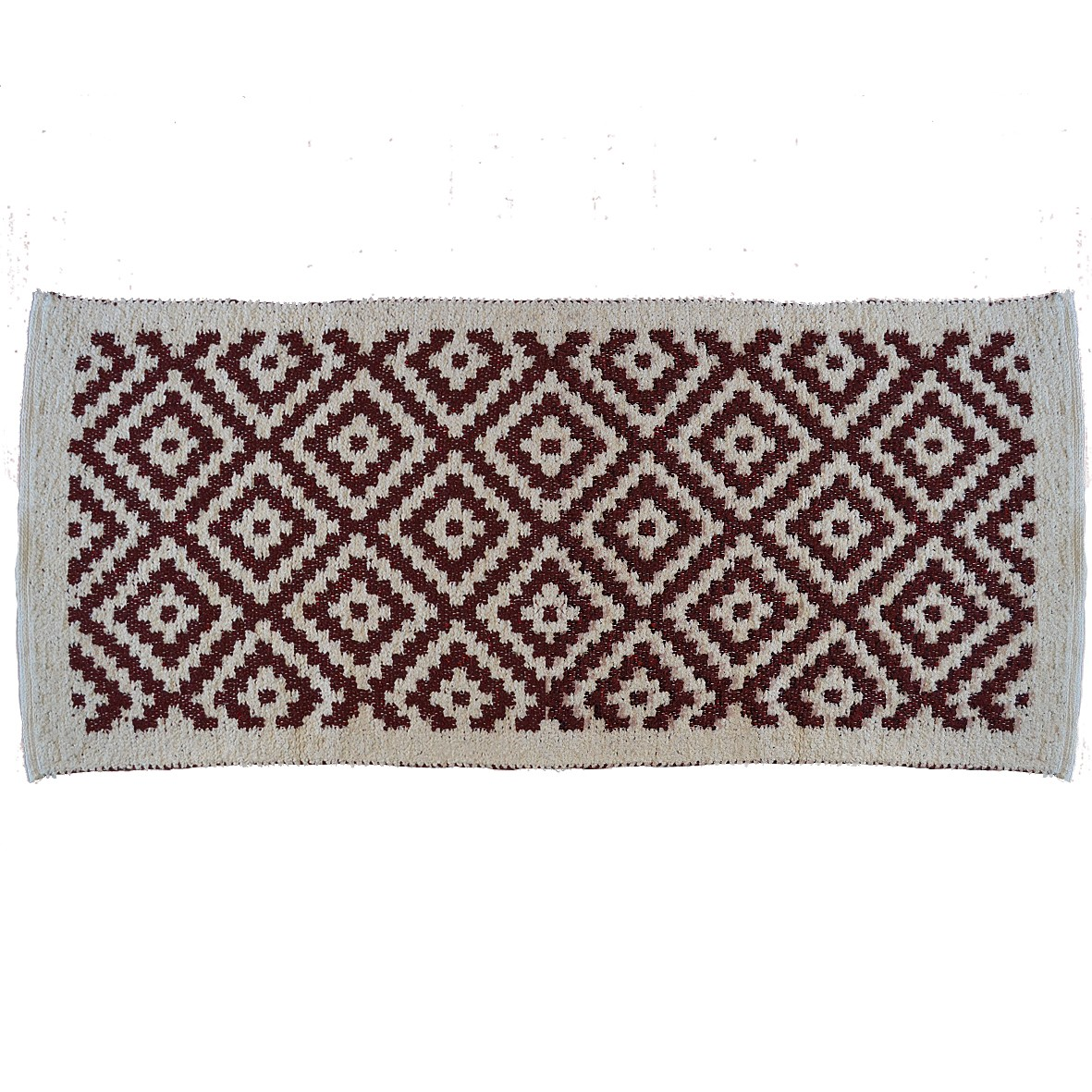Island, Two Sided Carpet, Burgundy, 65X135