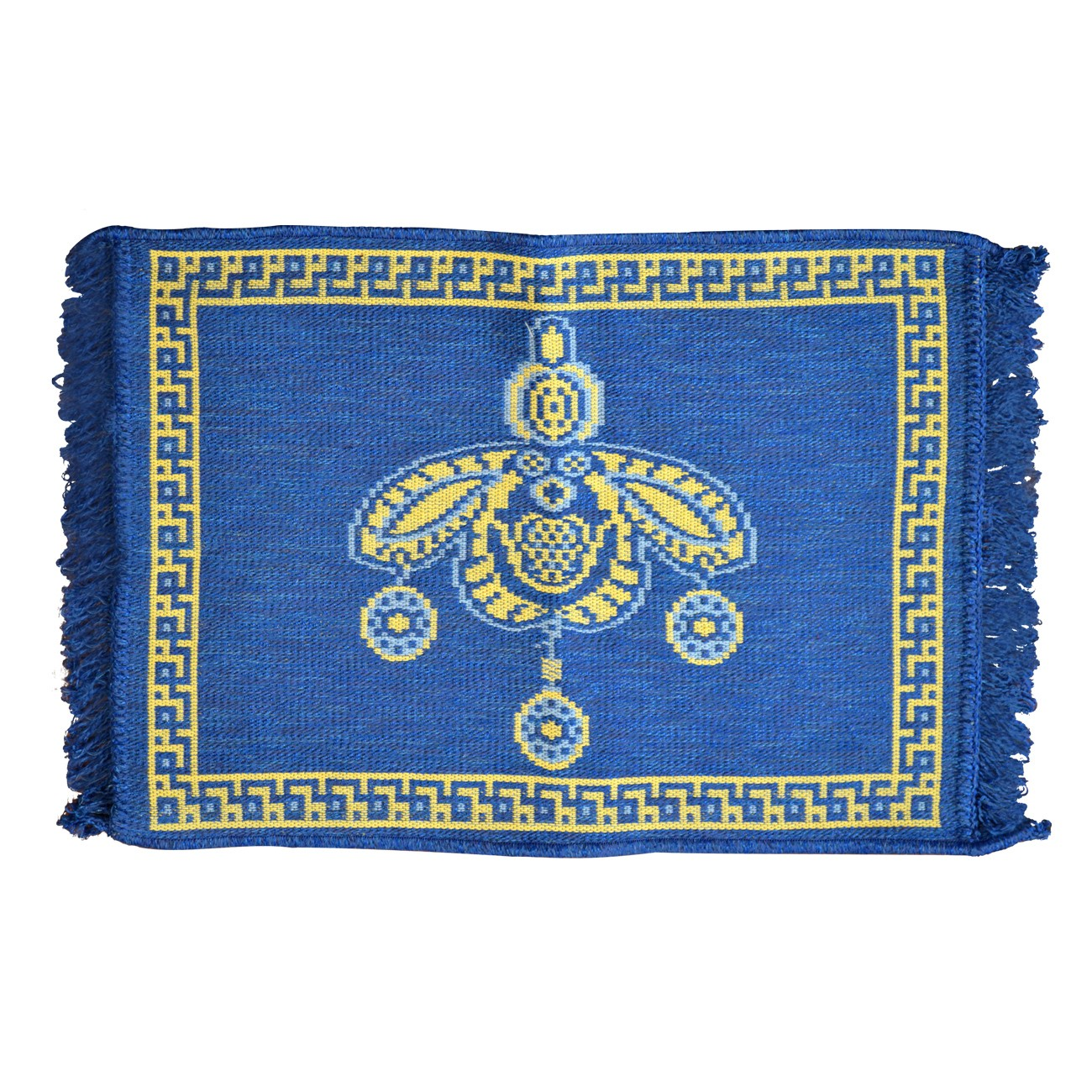 Bee Queen Rug Blue 1