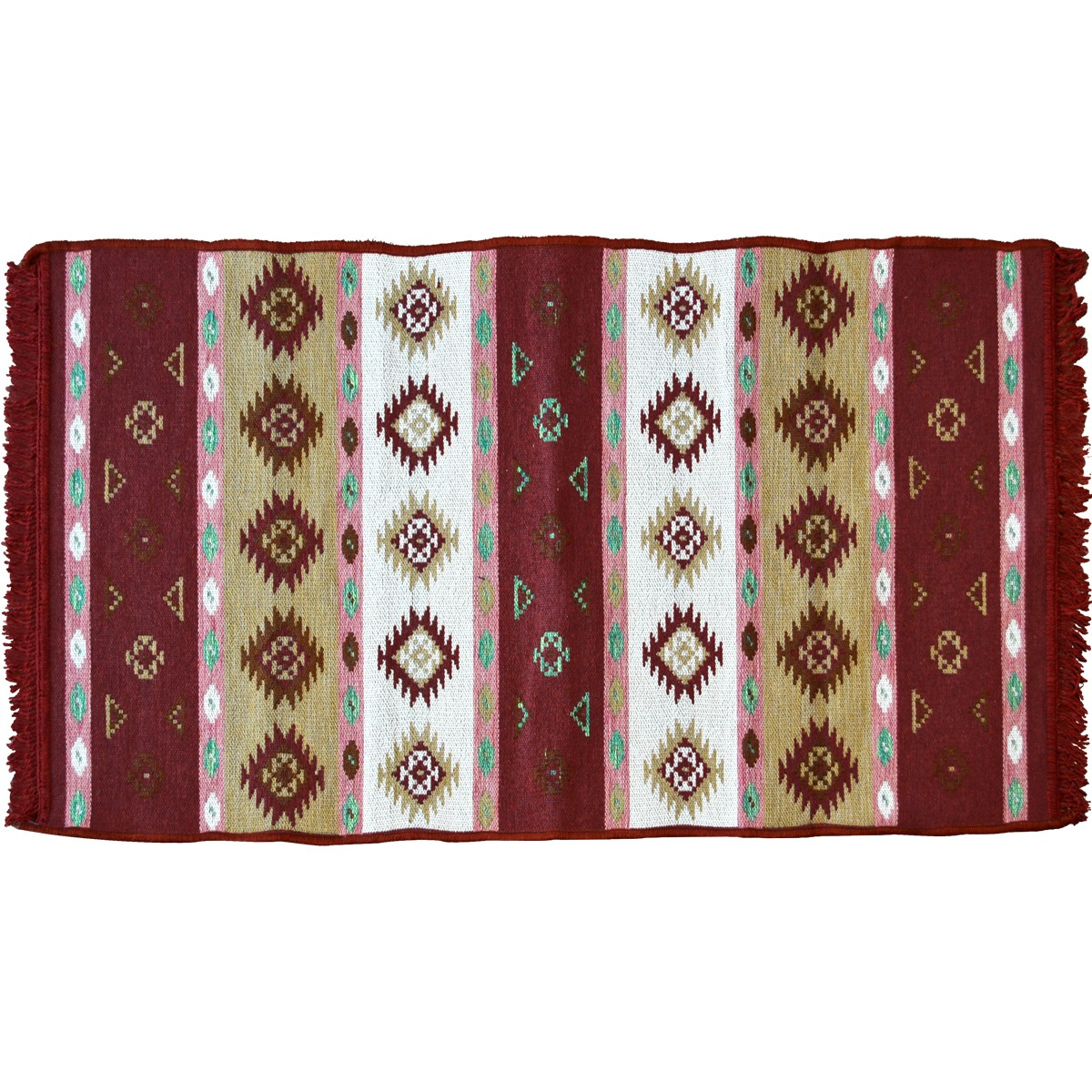 Orino Traditional Rug, Crimson Red