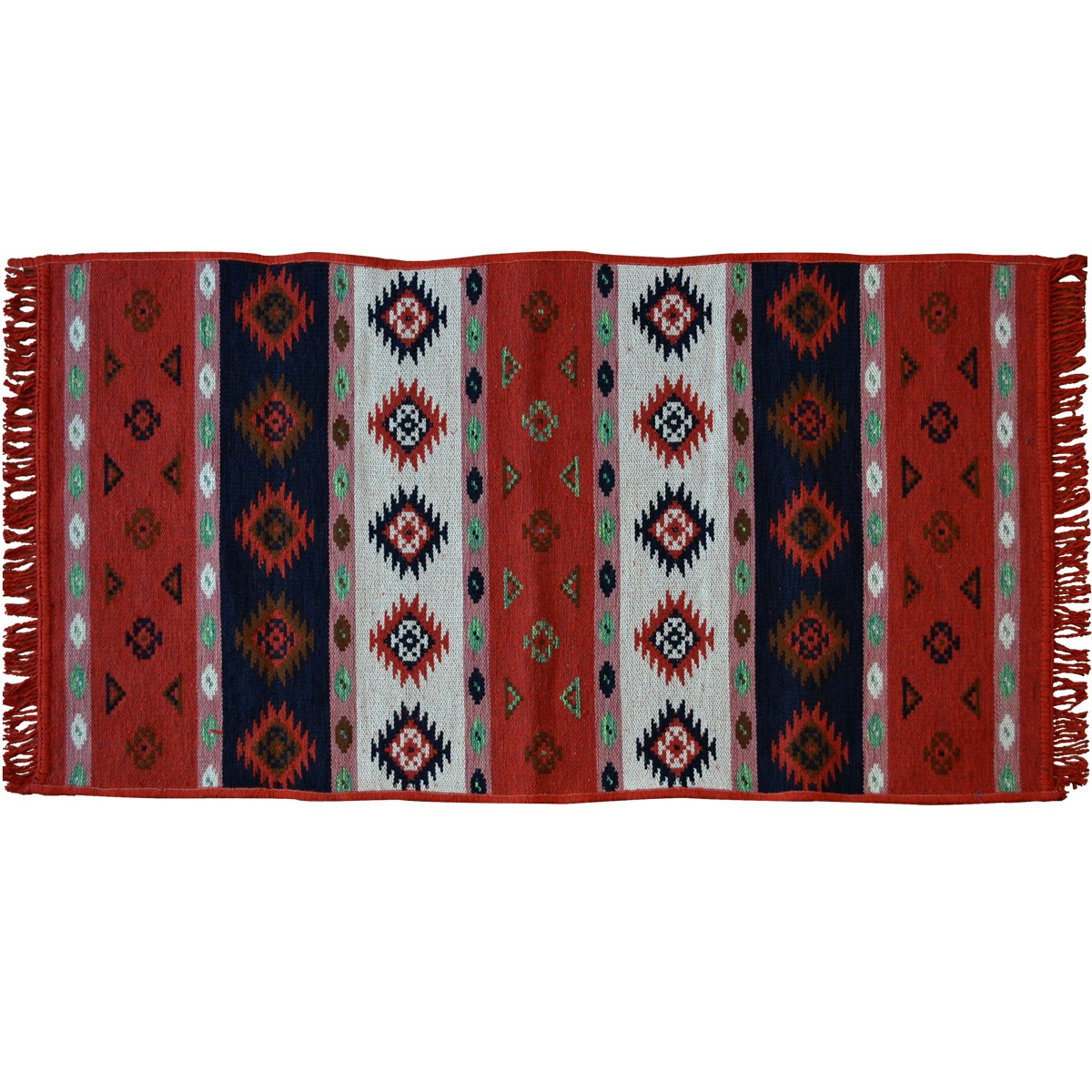 Orino Traditional Rug, Red
