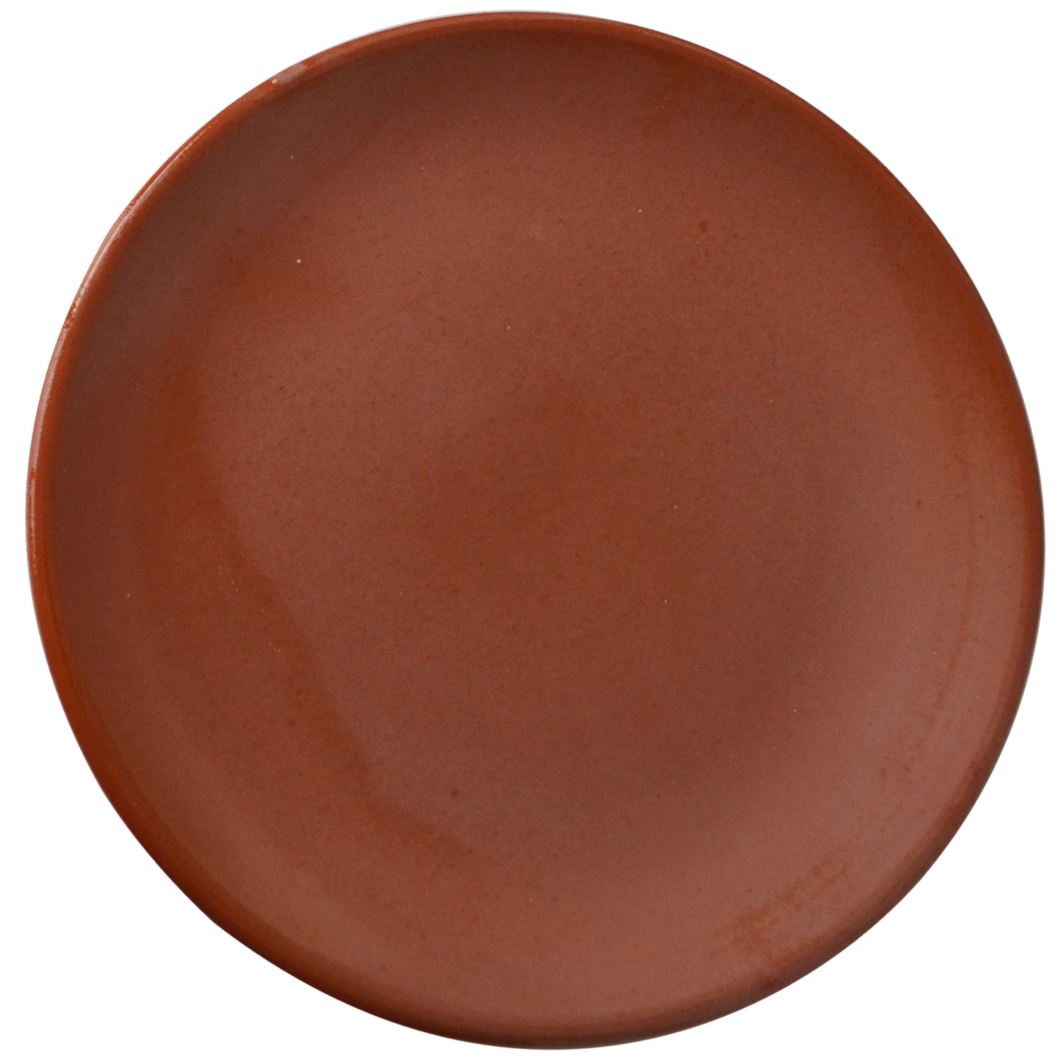 Rustic Hand Made Red Clay Plate-1