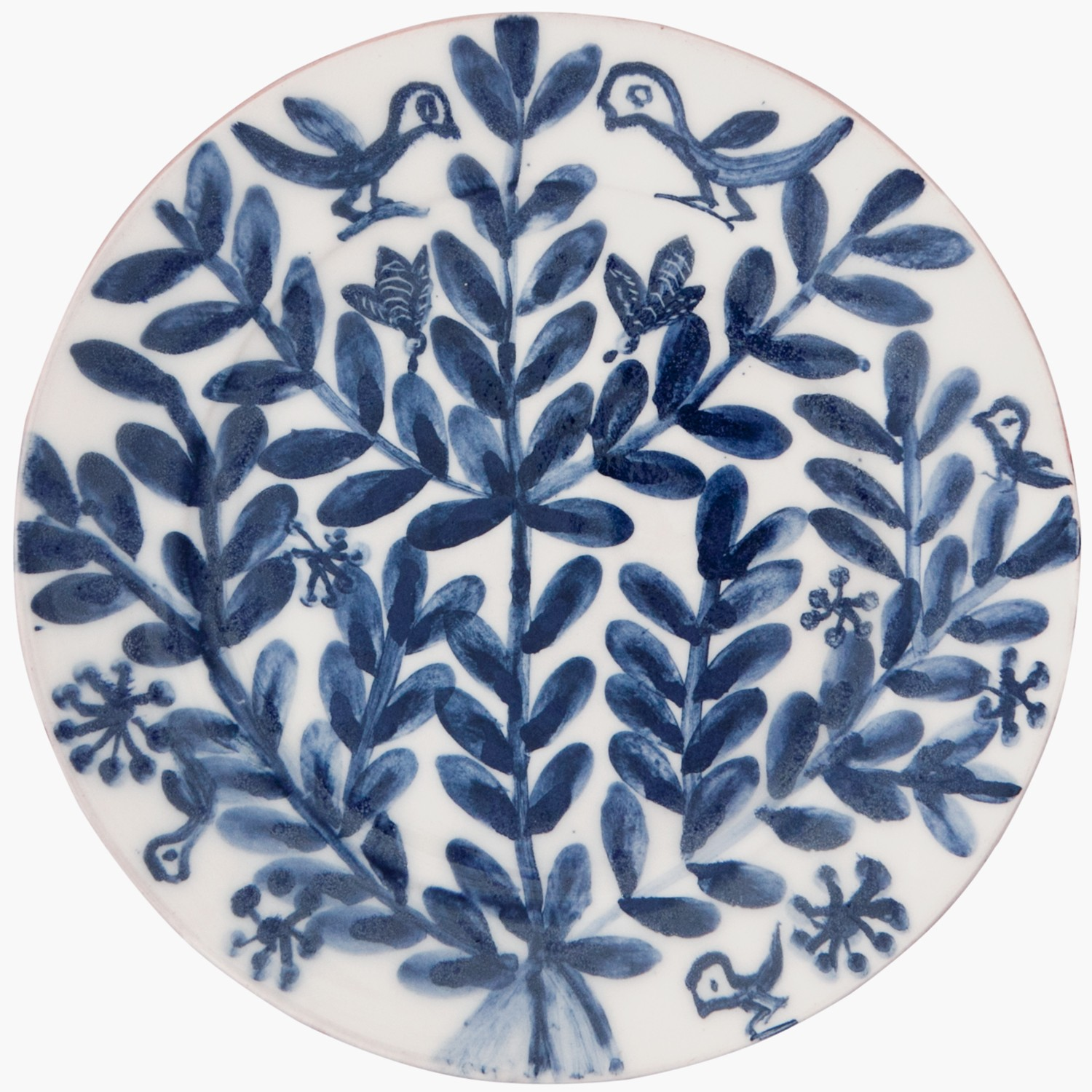 Decorative_Blue_and_White_Plates-Birds_Bees_Flowers-1