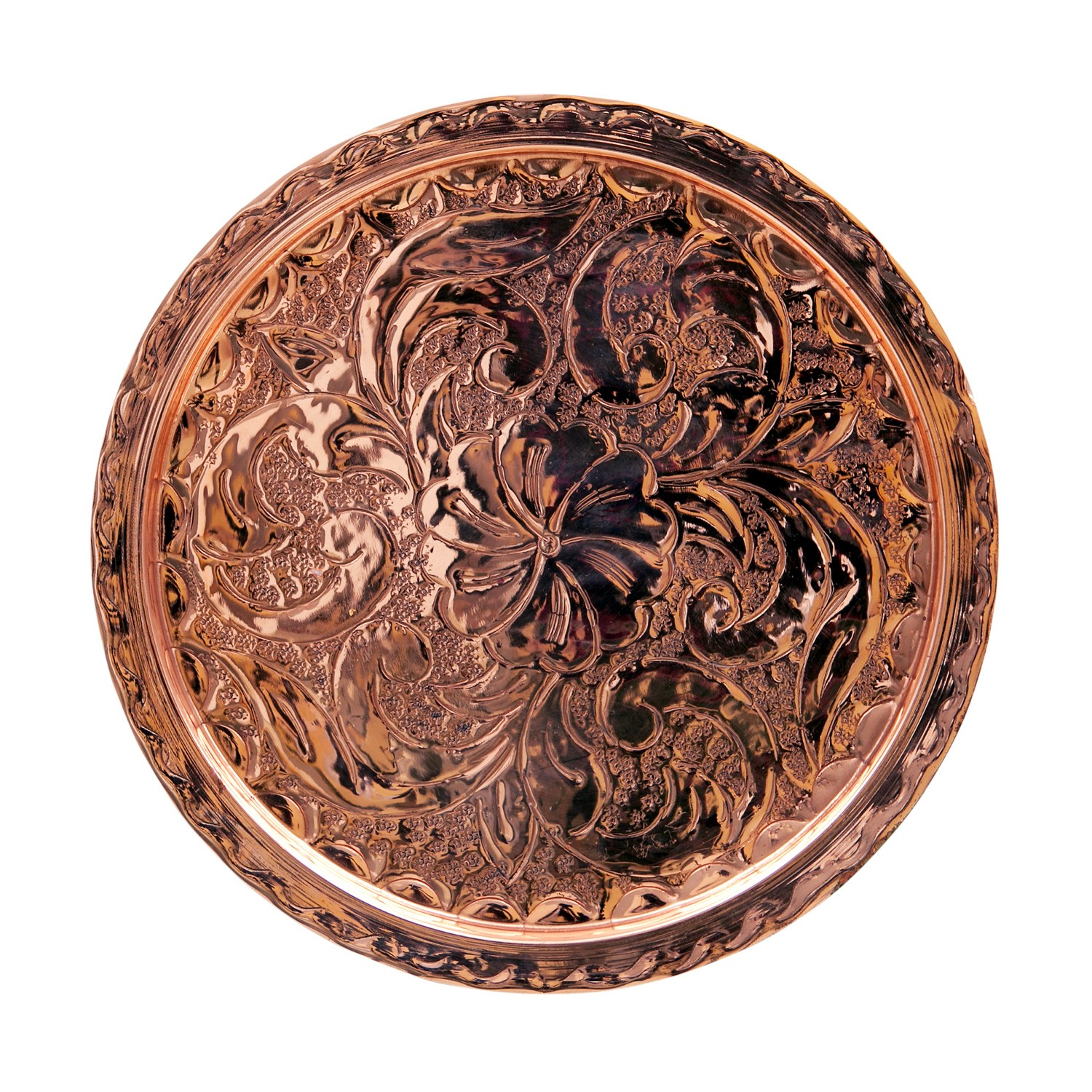 Decorative Copper Tray -A
