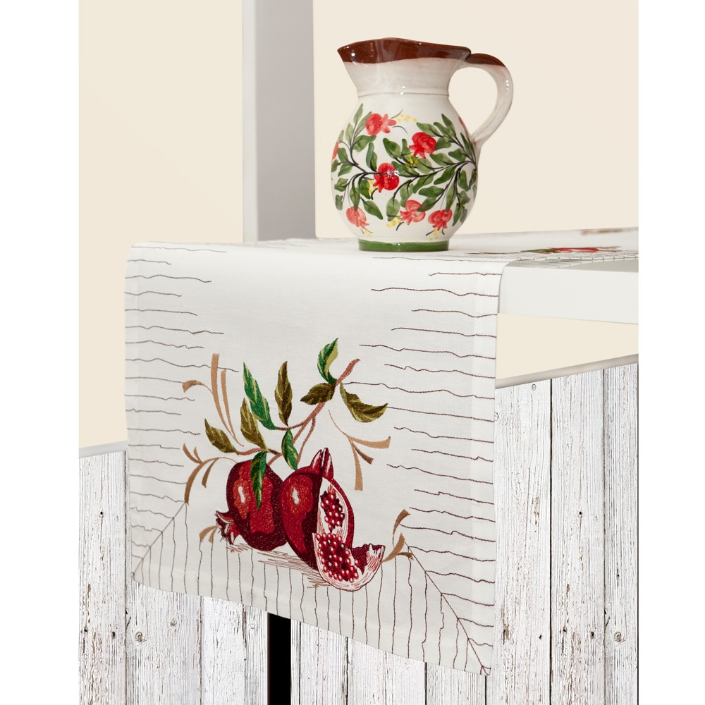 Dining-Room-Table-Runner-Pomegranates-1