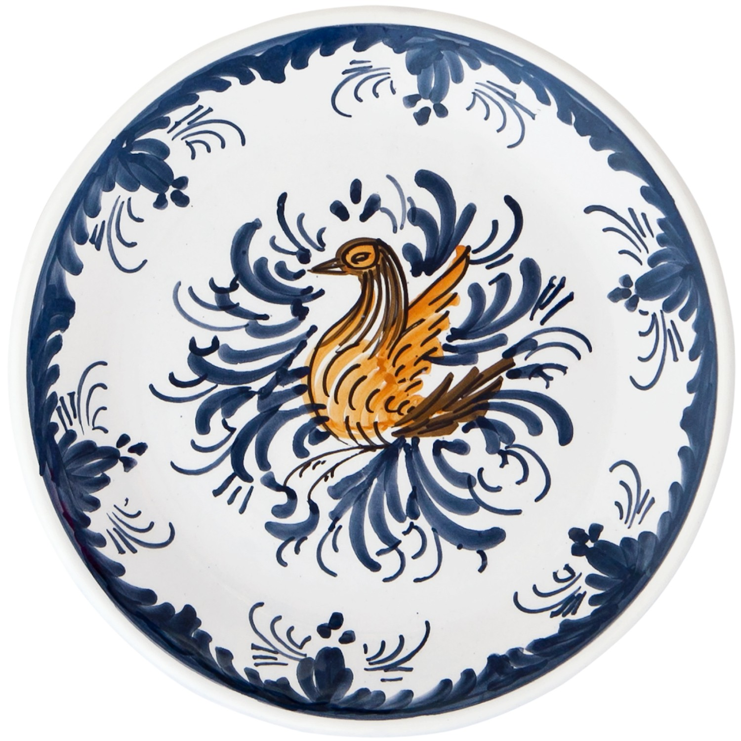 Hand_Painted_Ceramic_Dessert_Decorative_Plate-Swan-Skyriana_Plates-1