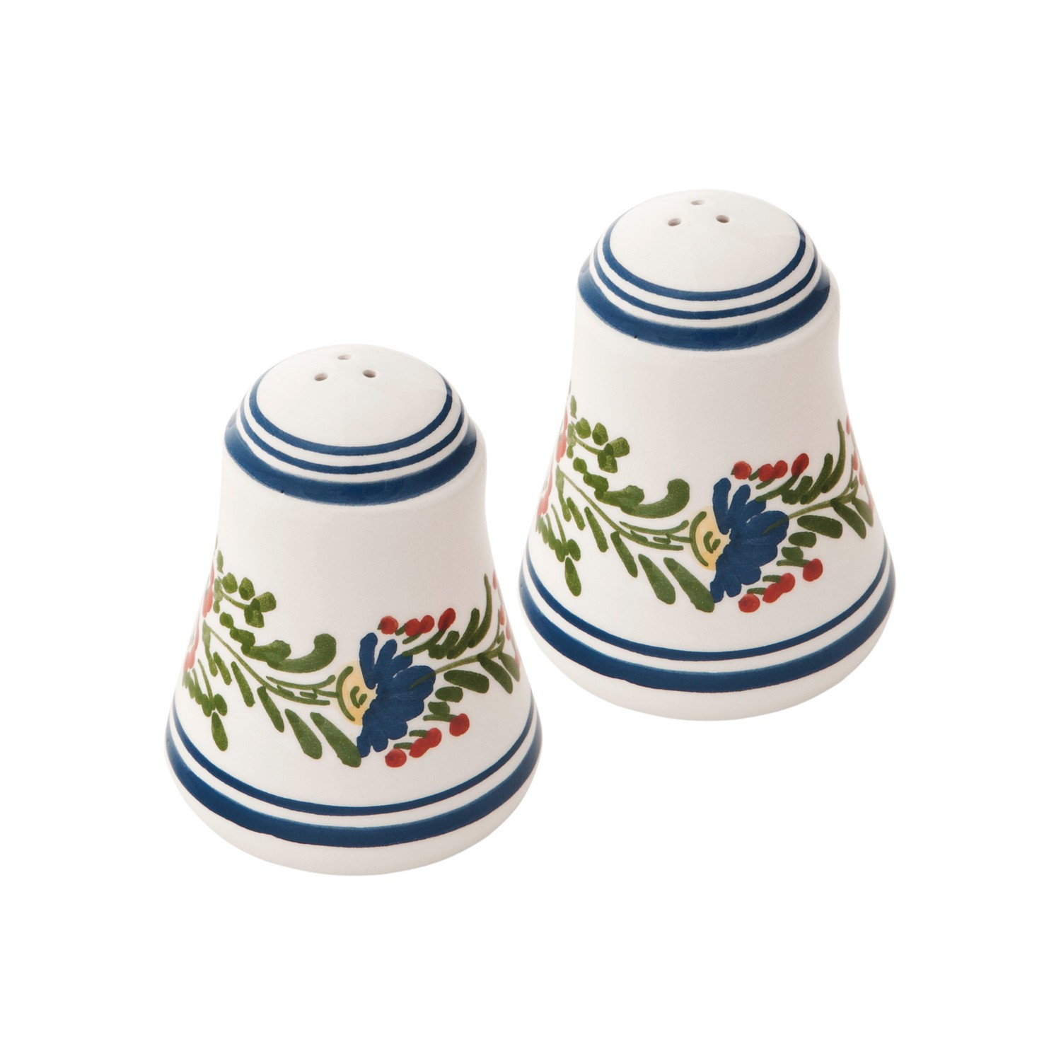 Skyriana-Ceramic_Salt_and_Pepper_Shakers-Hand_painted_Flowers-1