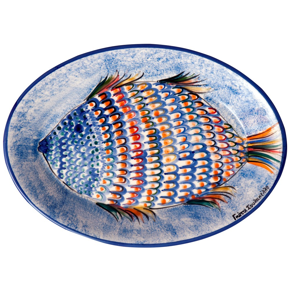 Oval-Serving-Platter-Colorful-Fish-1