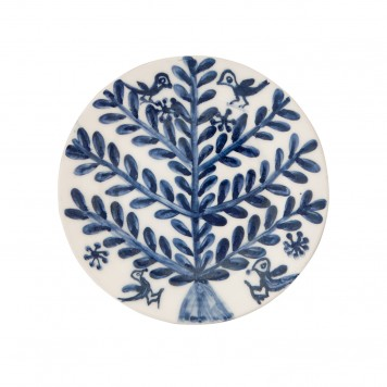 Decorative Blue and White Plates for sale - Tree & Birds-5