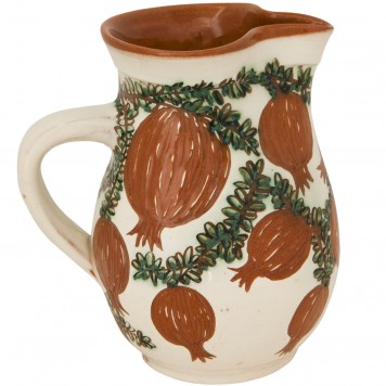 Pottery_Jugs_Hand-painted_Pomegranates-1