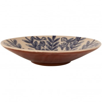 Decorative Bowl for Coffee Table - Birds on flowers-2