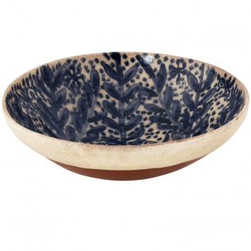 Greek Island Blue-White Bowl