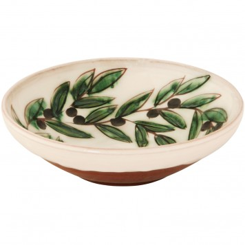 Pottery bowls for sale-Olive wreath-2