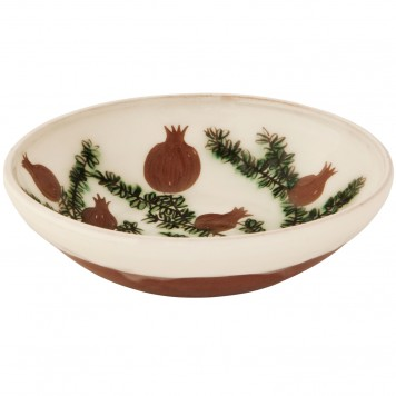 Decorative bowls for tables-Pomegranates-2